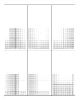 Graphing Sheet- blank