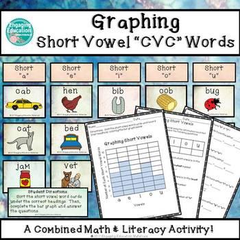 Graphing Short Vowel CVC Words