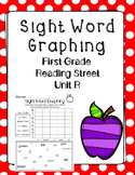 Graphing Sight Words Unit R. Reading Street. First Grade.