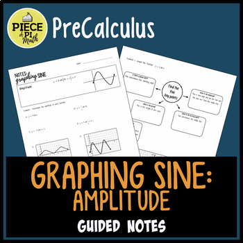 Graphing Sine: Amplitude Guided Notes