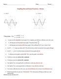 Graphing Sine & Cosine - Review