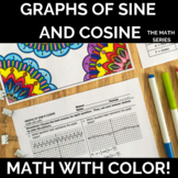 Graphing Sine and Cosine Functions Math with Color!