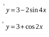 Graphing Sine and Cosine with ABC