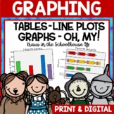 Graphing Activities and Worksheets | Easel Activity Distance Learning