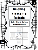 Graphing Slope-Intercept Foldable