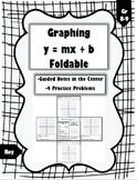 Graphing Slope-Intercept Foldable