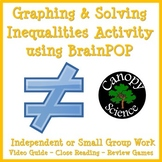 Graphing & Solving Inequalities Activity using  BrainPOP - Free
