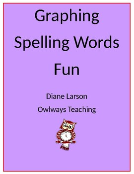 Graphing Spelling Words