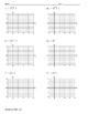 Graphing Square Root Functions ALGEBRA Worksheet