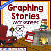 Graphing Stories & Situations Worksheet Activity