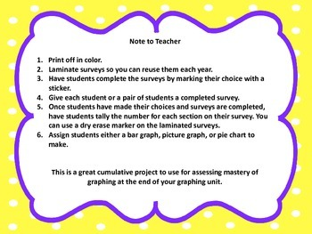 Graphing Survey Questions