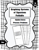 Graphing Systems of Equations - Foldable