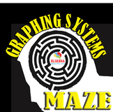 Graphing Systems of Equations Fun Activity Maze Game Algebra