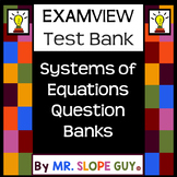 Graphing Systems of Equations Intro Question Bank for ExamView