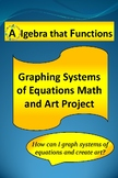 Math Project Graphing Systems of Equations Math and Art Project