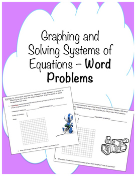 Graphing systems of equations word problems by ms garrett math tpt graphing systems of equations word problems ibookread ePUb