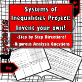 Graphing Systems of Ineqaulities Project: Invent Your Own!
