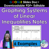 Graphing Systems of Linear Inequalities Notes