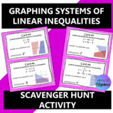 Graphing Systems of Linear Inequalities Scavenger Hunt