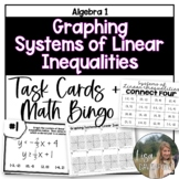 Graphing Systems of Linear Inequalities (Task Cards/ Connect 4)