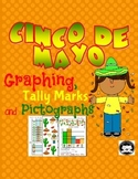 Graphing, Tally Marks and Pictographs for Cinco de Mayo