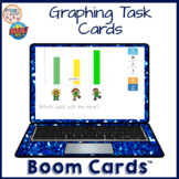 Graphing Task Card Boom Learning Cards