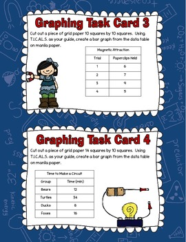Graphing Task Card Freebie