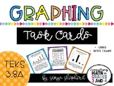Graphing Task Cards - TEKS 3.8A