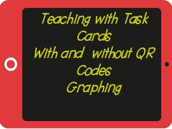 Graphing Task Cards 2 (QR Codes)