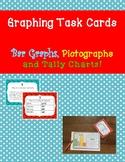 2nd Grade Bar Graph and Tally Chart Task Cards