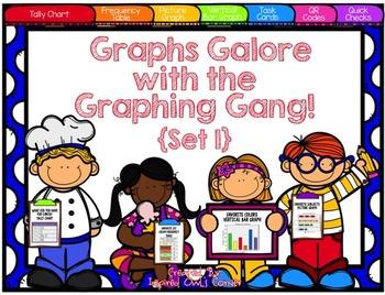 Graphs Task Cards Set 1