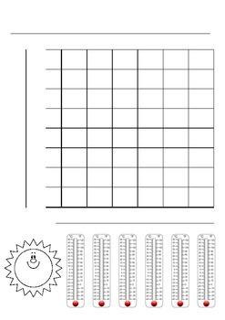 Graphing Temperature Worksheet by Nancy Walker | TpT