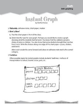 Graphing (Ten-Minute Activities)