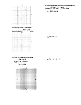Graphing Test