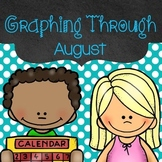 Monthly Graphs (Graphing Activities for August)
