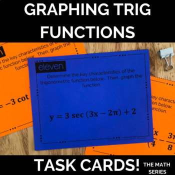Graphing Trig Functions Activity