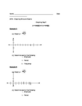 Graphing Trig Functions Guided Notes