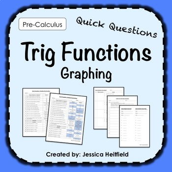Graphing Trig Functions Activity: Fix Common Mistakes!