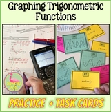 PreCalculus-Algebra 2: Graphing Trigonometric Functions Practice Plus Activity