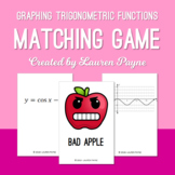Graphing Trigonometric Functions Matching Card Game