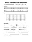Graphing Trigonometric Functions Organizer