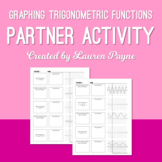 Graphing Trigonometric Functions Partner Activity