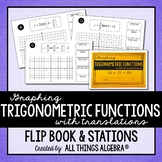 Graphing Trigonometric Functions (Sin, Cos, Tan) with Tran