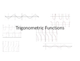 Graphing Trigonometric Functions Word Wall