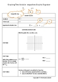 Graphing Two Variable Linear Inequalities Graphic Organizer