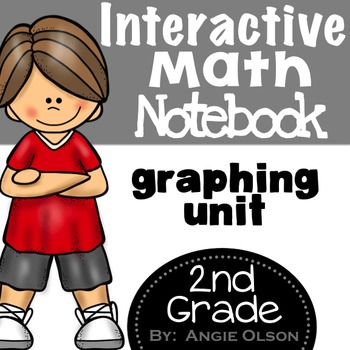Graphing Second Grade Math Notebook