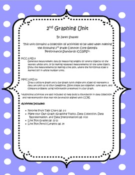 Graphing Unit for 2nd Grade