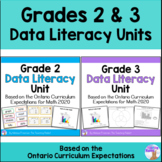 Data Literacy Units Bundle - Grades 2 & 3 - Distance Learning