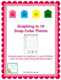 Graphing Up To 10- Snap Cubes Theme