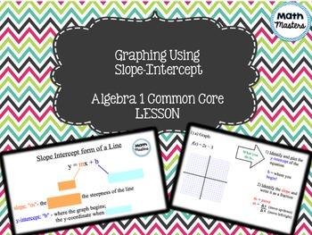 Graphing Using the Slope-Intercept Method